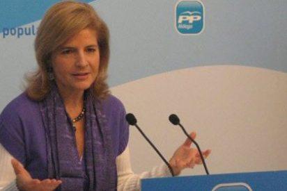 """Esperanza Oña: """"Díaz lleva en su mochila una larga lista de imputados y un agujero de 3.000 millones perdidos por corrupción"""""""
