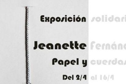 Exposición solidaria en el Maria Mandiles de Cáceres
