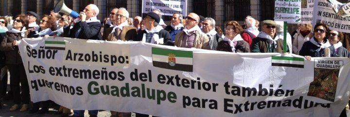 El Gobierno de Extremadura reclama en Toledo la extremeñidad de Guadalupe