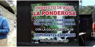 Proyecto agua en Guatemala