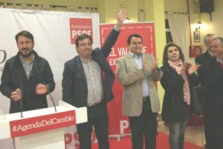 Fernández Vara visita la localidad pacense de Hornachos