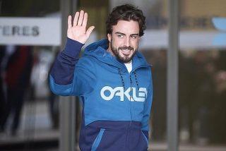 Alonso desvela lo que recuerda antes del accidente