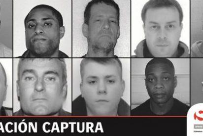 Se buscan en España a 10 fugitivos británicos acusados de delitos graves