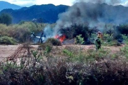 El vídeo del accidente de los helicópteros en el que murieron los concursantes del reality