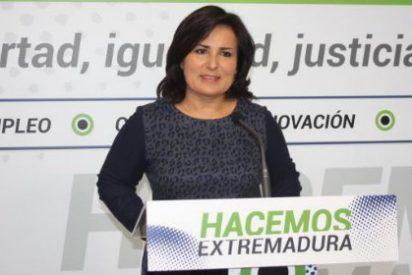 """Francisca Rosa (PP): """"En el sur existen dos modelos; el extremeño de estabilidad y empleo, y el socialista de inestabilidad y paro"""""""