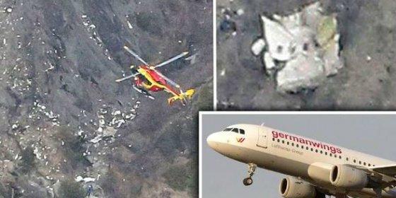 El extraño descenso hacia la muerte ¡durante 8 minutos! del avión de Germanwings