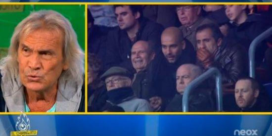 """El 'Loco' Gatti le pega duro a Pep Guardiola: """"Mintió y actuó para las cámaras. Fue al Camp Nou a vender humo"""""""