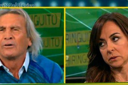 """'Loco' Gatti la lía con Carme Barceló: """"¡No sabes ni lo que es una pelota! ¡Anda a lavar los platos!"""""""