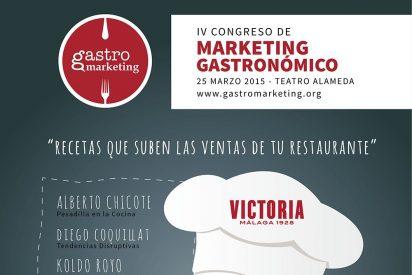 """Llega a Málaga la IV edición de """"GastroMarketing"""" con Alberto Chicote, """"foodtrucks"""" y mucho más"""