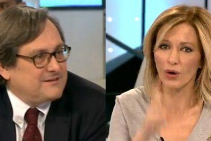 "Marhuenda se la tira con bala a Griso: ""Te felicito si crees que los de Podemos se han convertido"""