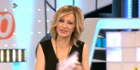 """Susanna Griso sale en defensa de Monedero: """"No es ningún pecado ni delito viajar a Ginebra"""""""