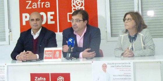 Fernández Vara propone la creación de un Plan Específico de Estímulo al Pequeño y Mediano Comercio