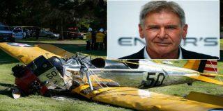 El vídeo de Harrison Ford herido tras estrellarse con una avioneta de la II Guerra Mundial en un campo de golf