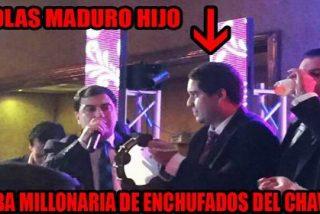 El vídeo del hijo de Maduro bailando borracho bajo una lluvia de dólares y 'cubalibres'