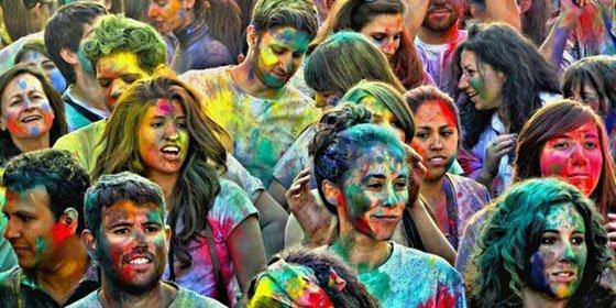 HoliMadrid 2015: La Primavera Hindú teñirá la Gran Vía con los colores de la India