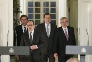 """Jean-Claude Juncker: """"España y Portugal no tienen un plan diabólico para derrocar a Tsipras"""""""