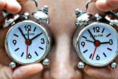 ¿Te acuerdas de que hoy tienes que adelantar una hora el reloj?