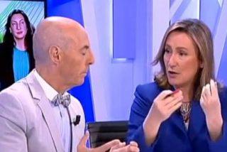 """Isabel Durán da un repaso al socialista Antonio Hurtado: """"A Susana Díaz le queda Podemos para pactar, fantástica estabilidad"""""""