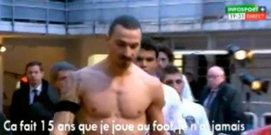 """Ibrahimovic saca su ira contra Francia: """"Este país de mierda no se merece al PSG"""""""