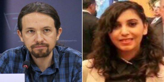 Pablo Iglesias se consuela con su asistente marroquí tras romperse el corazón