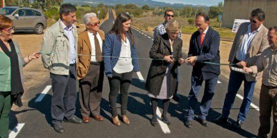 La carretera de Alía a Castilblanco reabre tras las obras de mejora