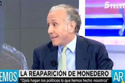 """Inda, a saco contra Monedero: """"Es un sinvergüenza fiscal, es como si Al Capone da lecciones de moralidad"""""""
