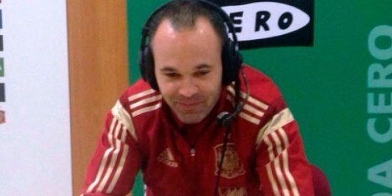 """Iniesta rebaja tensiones: """"En la final de Copa lo de menos es el escenario"""""""