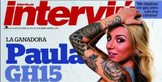 Paula Gonzalez De Ganar Gh15 A Quitarselo Todo En Interviu