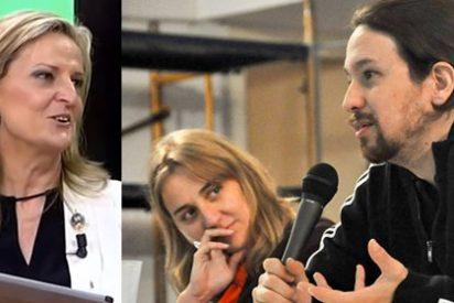 """Isabel San Sebastián se burla de la ruptura Iglesias-Tania Sánchez :""""Se les ha roto el amor de tanto usarlo para sus chanchullos políticos"""""""