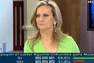 """Isabel San Sebastián desenmascara al podemita Espinar: """"Exigió que nos hicieran bullying a Tertsch y a mí en Telemadrid"""""""