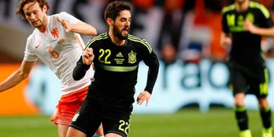 Una España sin gol suspende por 2-0 en el examen amistoso frente a Holanda