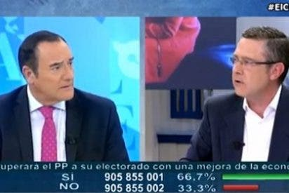 """Jiménez le corta a Yáñez sus ataques a Rajoy: """"No seas demagogo y vamos a ser un poquito rigurosos, ¡puñetas!"""""""