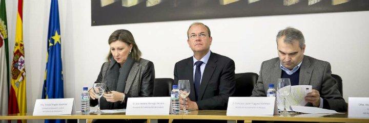 Monago destaca los trabajos de recuperación de la Alcazaba de Badajoz