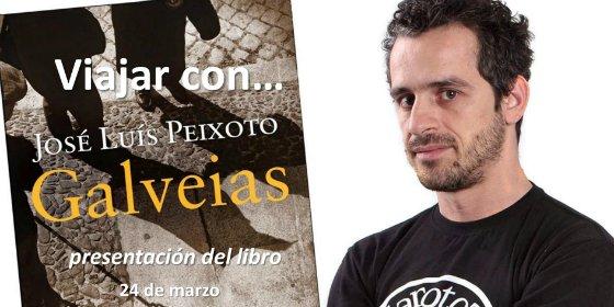 """José Luís Peixoto presenta en Badajoz su última novela """"Galveias"""""""