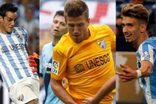 El Atlético pretende a 3 futbolistas del Málaga