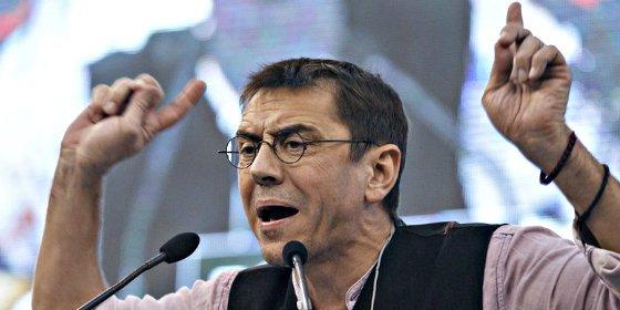 El podemita Monedero se vio el pasado 3 de marzo de 2015 en Ginebra con emisarios chavistas