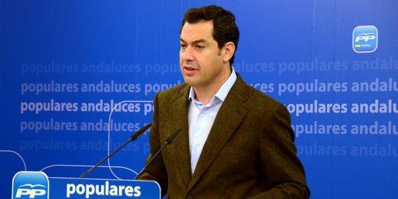 """El candidato del PP andaluz a la Presidencia de la Junta, Juanma Moreno: """"El PP es el partido del empleo"""""""
