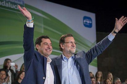 """Juanma Moreno: """"Todo lo que no sea votar al PP es consolidar en el poder al PSOE y a Díaz"""""""