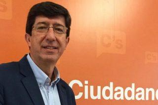 """Juan Marín (Ciudadanos): """"No sé si Susana Díaz estará dispuesta a aceptar nuestras condiciones para pactar"""""""