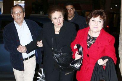 La Infanta Margarita evita hablar de la demanda de paternidad de su hermano, el Rey Juan Carlos