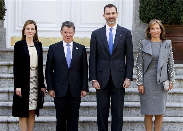 La Reina Letizia y Clemencia Rodríguez, duelo de bellezas en Zarzuela