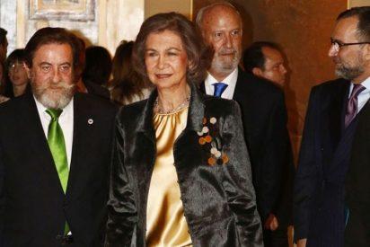 La Reina Sofía entrega el Premio de Pintura y Escultura a Juan José Vicente Ramírez