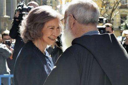 La Reina Sofía una fiel devota del Cristo de Medinaceli
