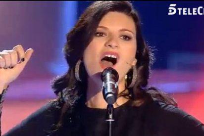 Grandioso estreno de 'La Voz 3' en el que Laura Pausini se convierte en la peor pesadilla de Malú