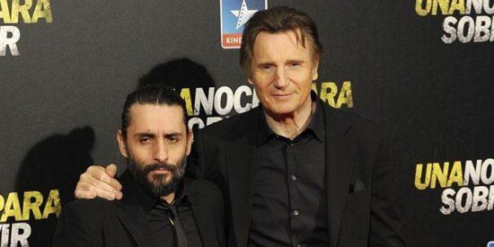 Liam Neeson, encantado en el preestreno de su nueva película en Madrid