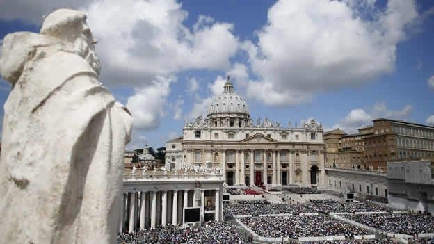 Vaticano, reino de hombres