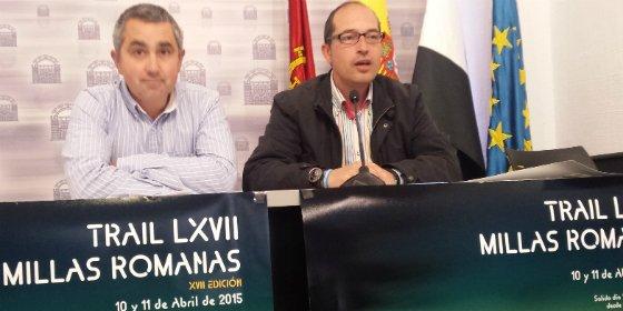 550 inscritos en las décimo séptimas LXVII Millas Romanas de Mérida