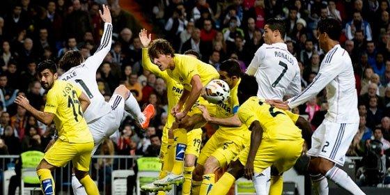 El Real Madrid no puede con el Villarreal y saca un empate del Bernabéu