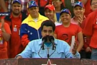 "[Vídeo] Maduro está muy verde para hablarle a Obama en inglés: ""We are hop, hop"""