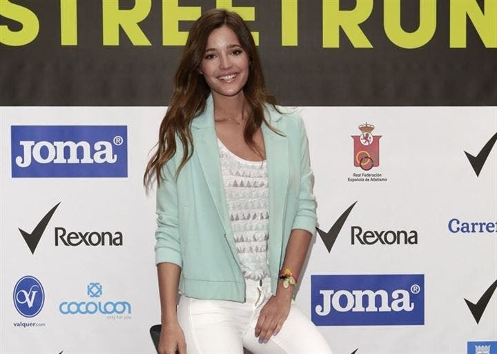 La modelo Malena Costa presenta el circuito Rexona Street Run